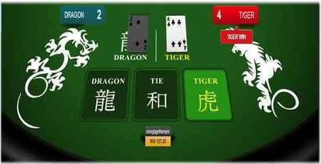 cara main dragon tiger